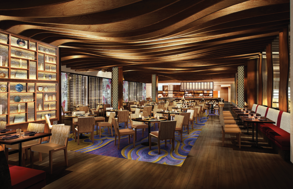 A Rendering Of Kuro One More Than 20 New Restaurants Inside The Hard Rock Hotel Atlantic City Courtesy